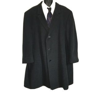 Calvin Klein Men's 56R Cashmere Blend Overcoat